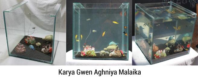 Gwen Aghniya Malaika_11 Anak Main Di Rumah_Mix media_35 x 35 x35 x35 cm_2019
